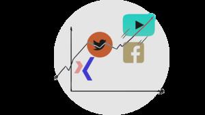 Soziale Medien in Zahlen