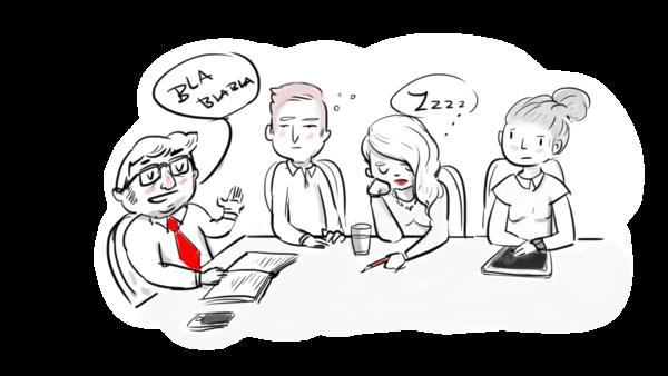 Strategien gegen langweilige Besprechungen