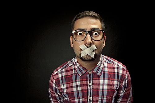 Schweigen in der Kommunikation