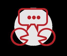 Icon Mitarbeiterkommunikation