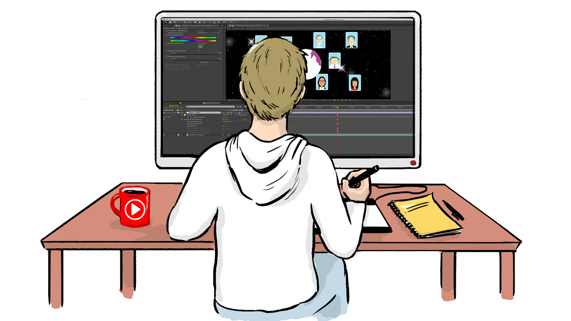 2D Animation als Erklärfilme erstellen – Produktion durch Marketing-Agentur