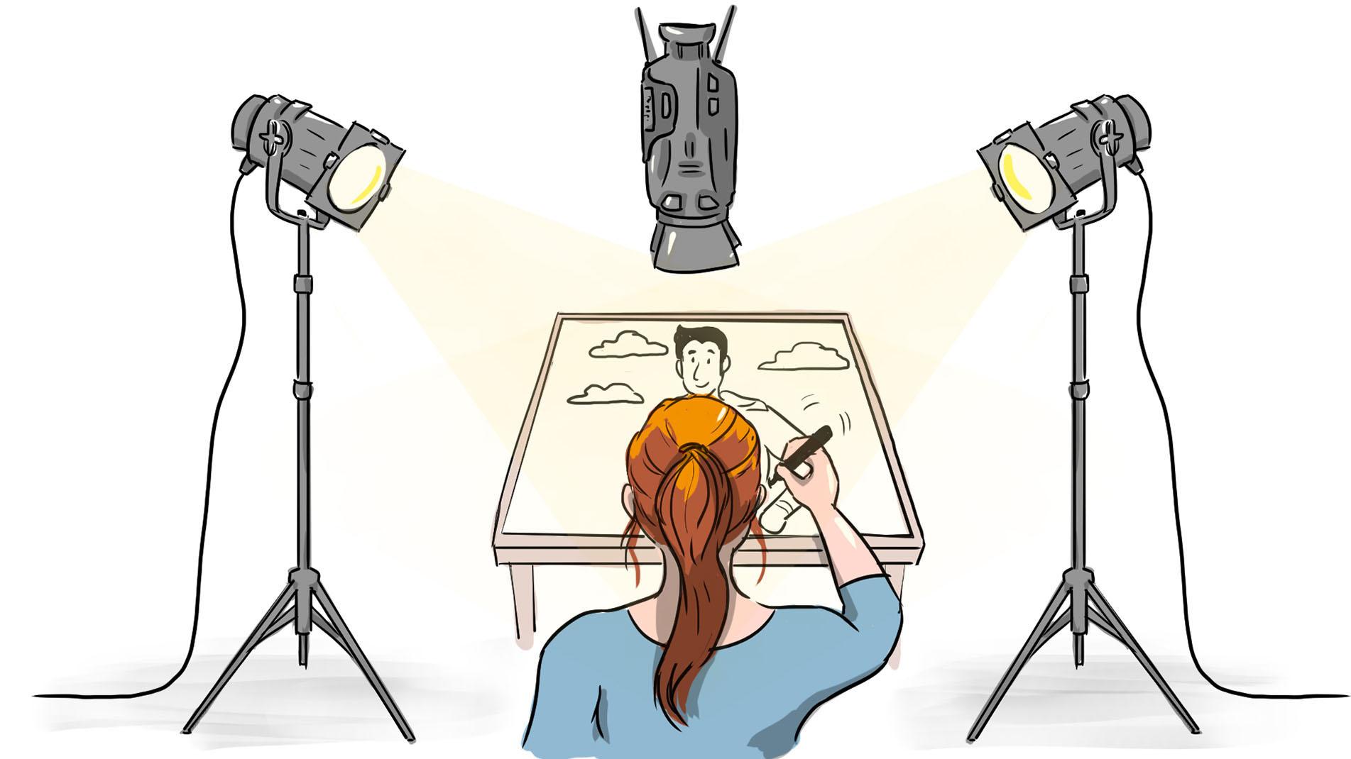 Whiteboard Animation als Erklärvideos & Erklärfilme – Erklärvideo Produkton durch Video-Agentur